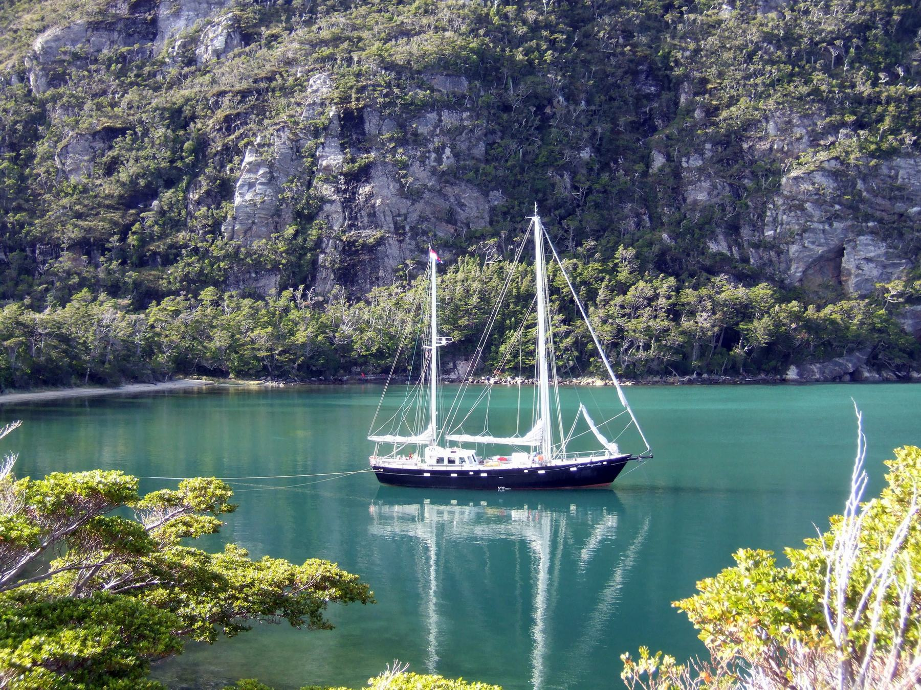 Patagonia sailing expedition with the Anne-Margaretha