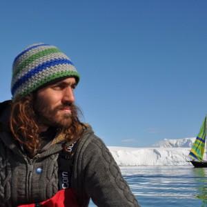 Sam in Antarctica