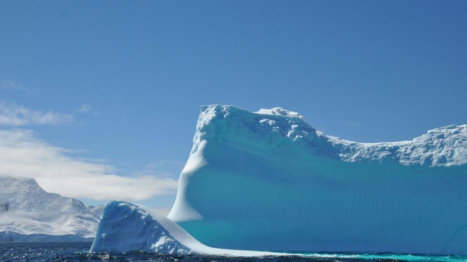 ijsberg bij deception island